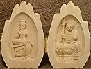 Jizo and Miroku Praying Hands