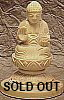 Mini Yakushi Buddha - Wood Carving