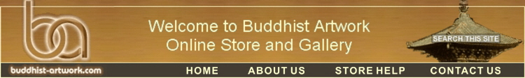 Welcome to Buddhist Artwork Online Store and Gallery