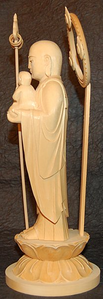 Side View of Jizo