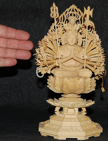 Size of 1000 Armed Kannon