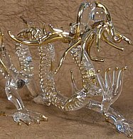 Handmade Dragon Glassware from Thailand