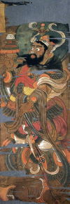 11-Tamonten-Vaisravana-painting-from-hidden-library-cave-dunhuang-china